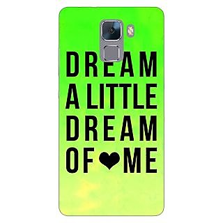 Jugaaduu Dream Love Back Cover Case For Huawei Honor 7 - J870092