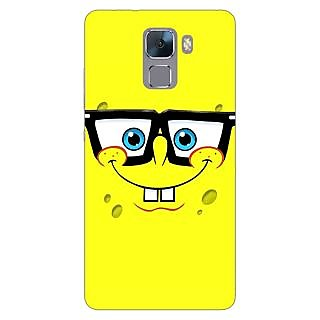 Jugaaduu Spongebob Back Cover Case For Huawei Honor 7 - J870459