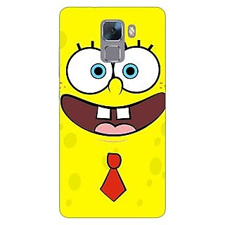 Jugaaduu Spongebob Back Cover Case For Huawei Honor 7 - J870461