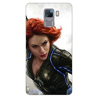 Jugaaduu Super Heroes Avengers Age of Ultron Back Cover Case For Huawei Honor 7 - J870851