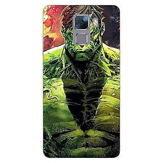 Jugaaduu The Incredible Hulk Back Cover Case For Huawei Honor 7 - J870859