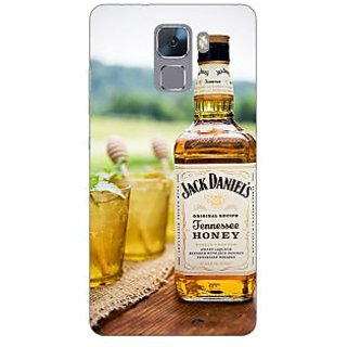 Jugaaduu Jack Daniels JD Whisky Back Cover Case For Huawei Honor 7 - J871211