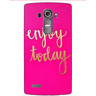 Jugaaduu QQQQ Back Cover Case For LG G4 - J1101167