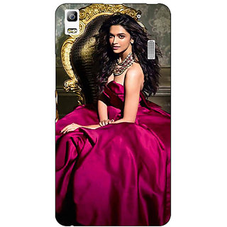 Jugaaduu Bollywood Superstar Deepika Padukone Back Cover Case For Lenovo K3 Note - J1121040