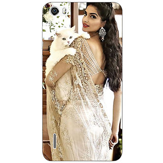 Jugaaduu Bollywood Superstar Sonam Kapoor Back Cover Case For Huawei Honor 6 - J860998