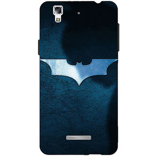 Jugaaduu Superheroes Batman Dark knight Back Cover Case For Micromax Yu Yureka - J880003
