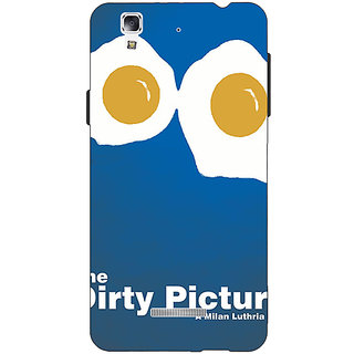 Jugaaduu Bollywood Superstar Dirty Picture Back Cover Case For Micromax Yu Yureka - J881128