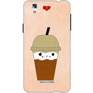 Jugaaduu Milkshake Love Back Cover Case For Micromax Yu Yureka - J881134