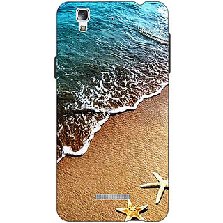 Jugaaduu Summer Beach Back Cover Case For Micromax Yu Yureka - J881139