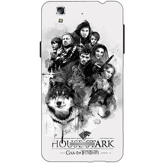 Jugaaduu Game Of Thrones GOT House Stark Back Cover Case For Micromax Yu Yureka - J881541