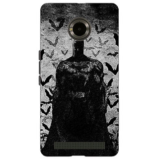 Jugaaduu Superheroes Batman Dark knight Back Cover Case For Micromax Yu Yuphoria - J890008