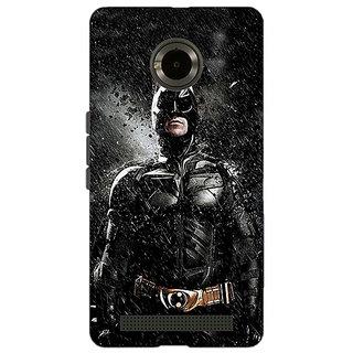 Jugaaduu Superheroes Batman Dark knight Back Cover Case For Micromax Yu Yuphoria - J890016