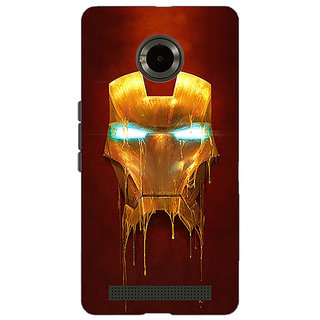 Jugaaduu Superheroes Ironman Back Cover Case For Micromax Yu Yuphoria - J890025
