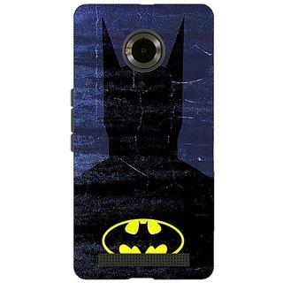Jugaaduu Superheroes Batman Dark knight Back Cover Case For Micromax Yu Yuphoria - J890042