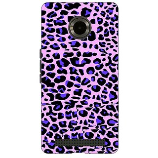 Jugaaduu Cheetah Leopard Print Back Cover Case For Micromax Yu Yuphoria - J890079