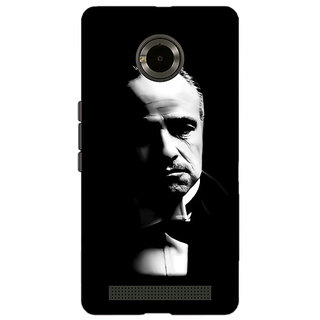 Jugaaduu The Godfather Back Cover Case For Micromax Yu Yuphoria - J890348