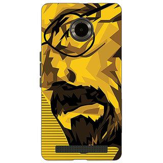Jugaaduu Breaking Bad Heisenberg Back Cover Case For Micromax Yu Yuphoria - J890432
