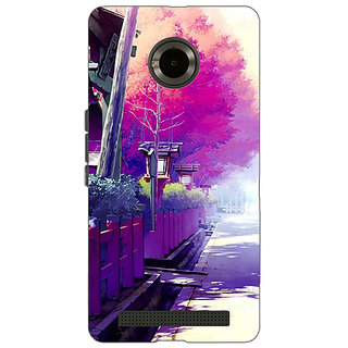 Jugaaduu Wonderland Back Cover Case For Micromax Yu Yuphoria - J890735