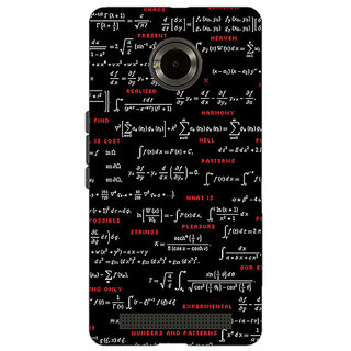 Jugaaduu Super Maths Back Cover Case For Micromax Yu Yuphoria - J890807