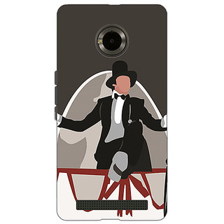 Jugaaduu Bollywood Superstar Anthony Gonsalves Back Cover Case For Micromax Yu Yuphoria - J891115