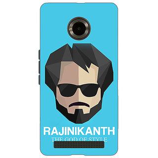 Jugaaduu Rajni Rajanikant Back Cover Case For Micromax Yu Yuphoria - J891483