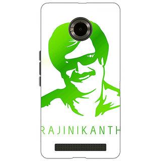 Jugaaduu Rajni Rajanikant Back Cover Case For Micromax Yu Yuphoria - J891492