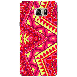 Jugaaduu Floral Pattern  Back Cover Case For Samsung S6 Edge+ - J900667