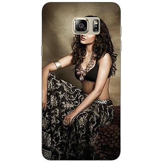 Jugaaduu Bollywood Superstar Esha Gupta Back Cover Case For Samsung S6 Edge+ - J901029