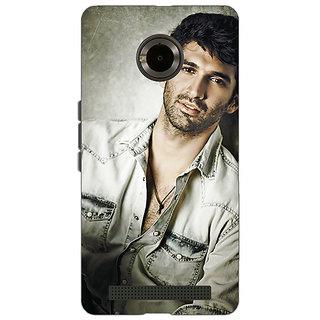 Jugaaduu Bollywood Superstar Aditya Roy Kapoor Back Cover Case For Micromax Yu Yuphoria - J890924