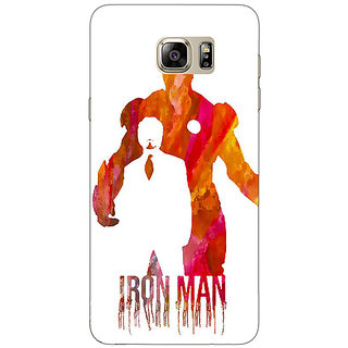 Jugaaduu Superheroes Iron Man Back Cover Case For Samsung S6 Edge+ - J900330