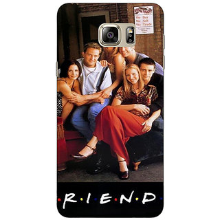 Jugaaduu TV Series FRIENDS Back Cover Case For Samsung S6 Edge+ - J900346