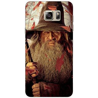 Jugaaduu LOTR Hobbit Gandalf Back Cover Case For Samsung S6 Edge+ - J900360