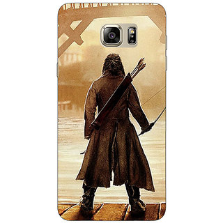 Jugaaduu LOTR Hobbit  Back Cover Case For Samsung S6 Edge+ - J900374