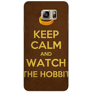 Jugaaduu LOTR Hobbit  Back Cover Case For Samsung S6 Edge+ - J900376