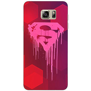 Jugaaduu Superheroes Superman Back Cover Case For Samsung S6 Edge+ - J900380