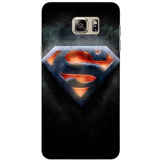 Jugaaduu Superheroes Superman Back Cover Case For Samsung S6 Edge+ - J900386