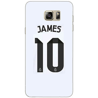 Jugaaduu Real Madrid James Rodriguez Back Cover Case For Samsung Galaxy Note 5 - J910592