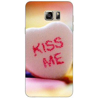 Jugaaduu Kiss me  Back Cover Case For Samsung S6 Edge+ - J900726