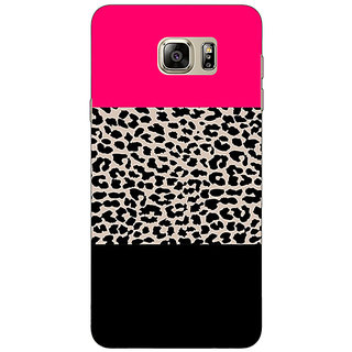Jugaaduu Leopard Pattern  Back Cover Case For Samsung S6 Edge+ - J900775