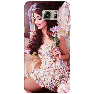 Jugaaduu Bollywood Superstar Sonam Kapoor Back Cover Case For Samsung S6 Edge+ - J901063