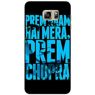 Jugaaduu Bollywood Superstar Mera Naam Prem Chopra Back Cover Case For Samsung S6 Edge+ - J901081