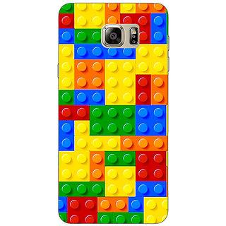 Jugaaduu Lego Back Cover Case For Samsung S6 Edge+ - J901442