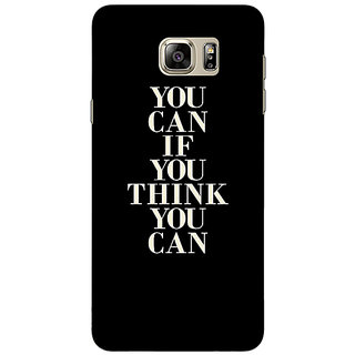 Jugaaduu Quote Back Cover Case For Samsung S6 Edge+ - J901480