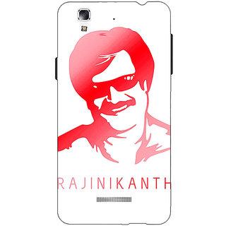 Jugaaduu Rajni Rajanikant Back Cover Case For Micromax Yu Yureka - J881493