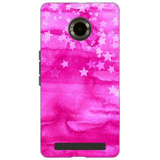 Jugaaduu Star Morning Pattern Back Cover Case For Micromax Yu Yuphoria - J890221