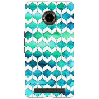 Jugaaduu Dream Patterns Back Cover Case For Micromax Yu Yuphoria - J890252