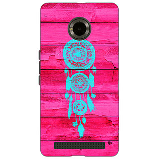 Jugaaduu Love Dream Catcher Back Cover Case For Micromax Yu Yuphoria - J890601