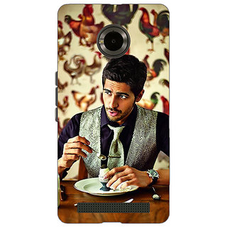 Jugaaduu Bollywood Superstar Siddharth Malhotra Back Cover Case For Micromax Yu Yuphoria - J890942