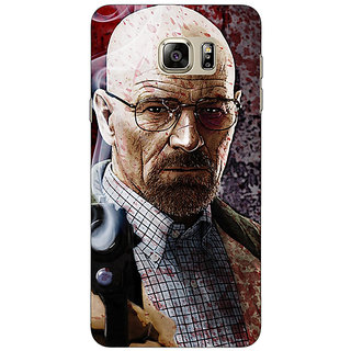 Jugaaduu Breaking Bad Heisenberg Back Cover Case For Samsung S6 Edge+ - J900418