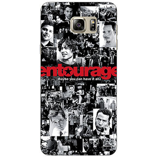 Jugaaduu Entourage Back Cover Case For Samsung S6 Edge+ - J900438